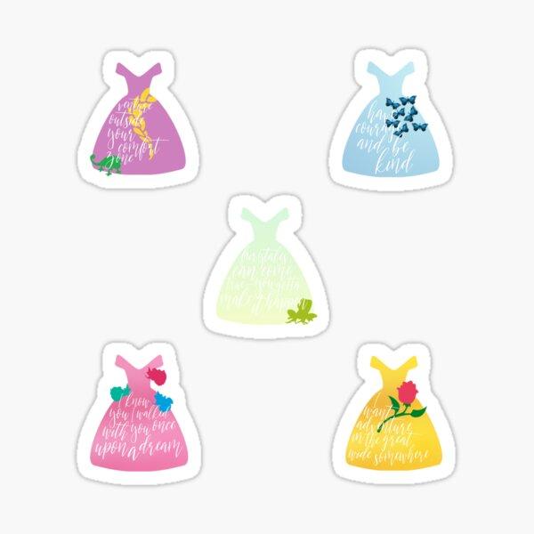 Princess Collection Sticker