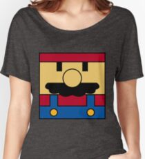 Minimal Mario Women's Relaxed Fit T-Shirt