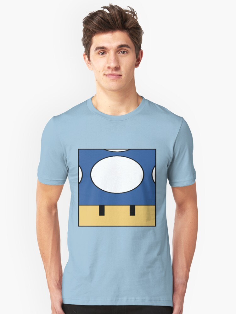 Minimal Toad blue Unisex T-Shirt Front