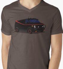 The A-Team Van  Men's V-Neck T-Shirt