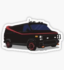 The A-Team Van  Sticker