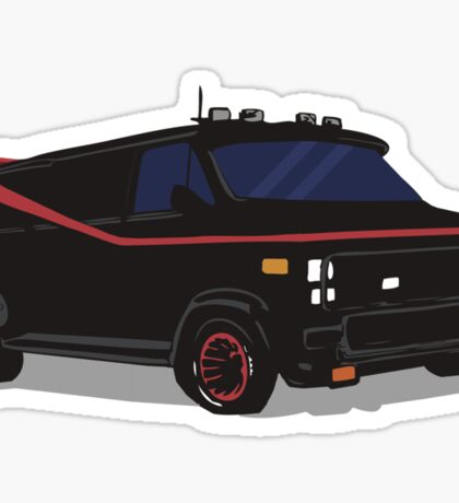 The A-Team Van  Sticker