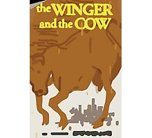 Max's Poster - The Winger and the Cow Photographic Print