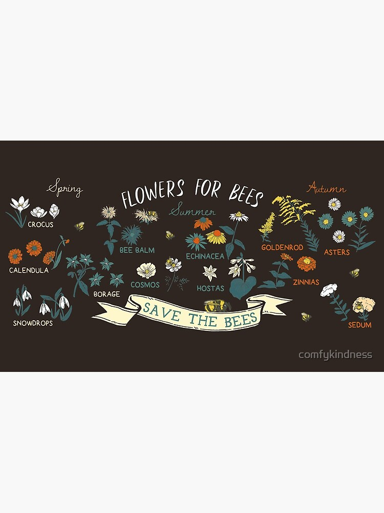 Flowers For Bees (Color) by comfykindness