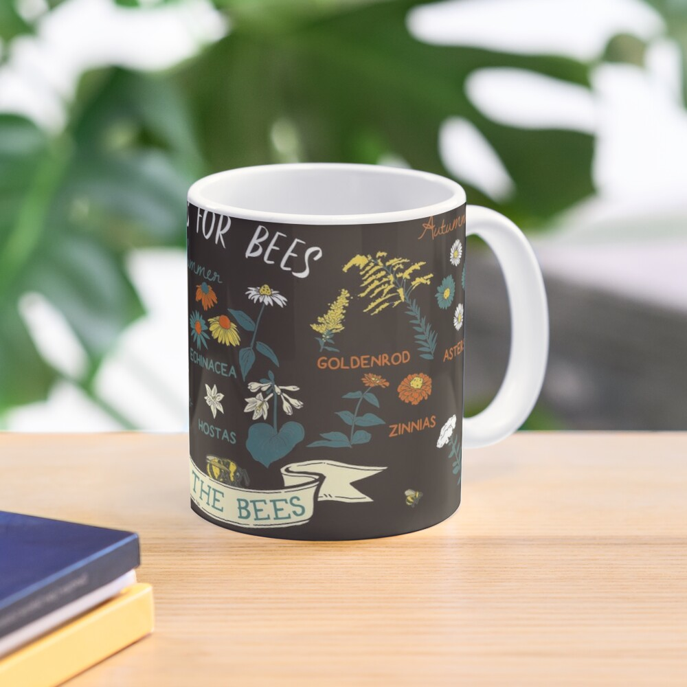 Flowers For Bees (Color) Mug