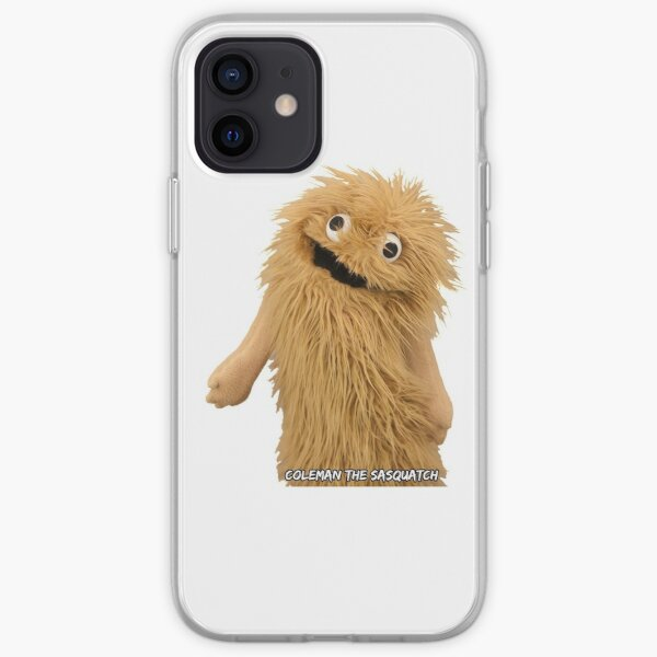 Wump Mucket Puppets Coleman the Sasquatch iPhone Soft Case