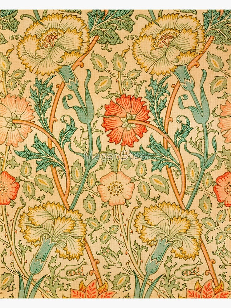 Pink and Rose by William Morris, 1890 by MeganSteer
