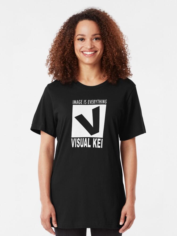 Alternate view of Visual Kei rating Slim Fit T-Shirt
