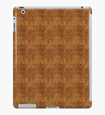 Grungy Golden Circles Pattern iPad Case/Skin