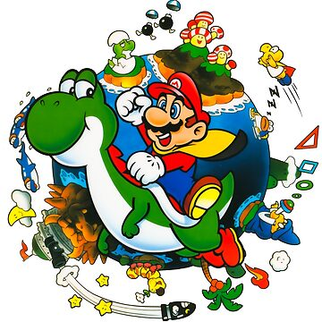 Super Mario World Planet. by K--I