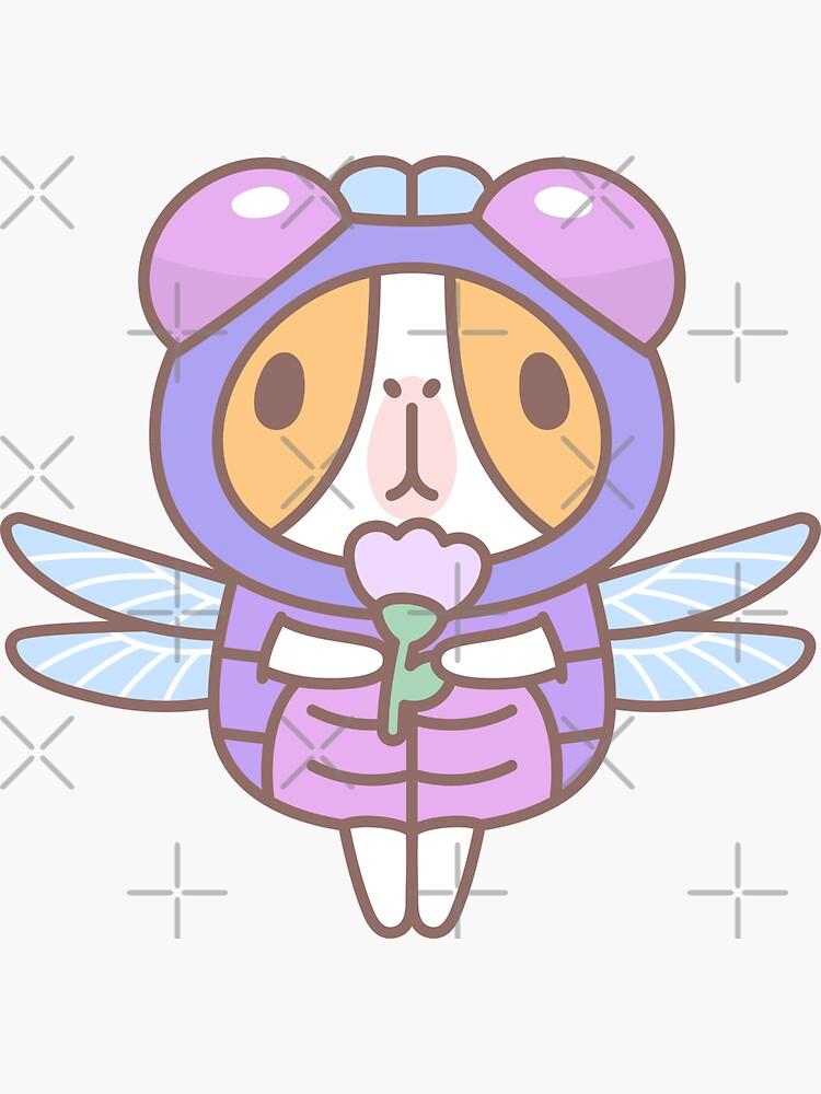Guinea Pig in Dragonfly Costume  by Miri-Noristudio