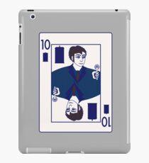 Ten of Tardis - Dark Blue iPad Case/Skin