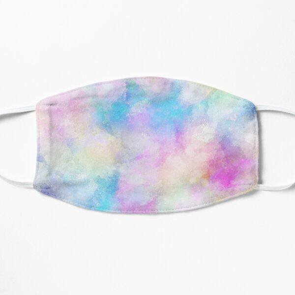 Unicorn Pastel Tie Dye - Abstract Art Flat Mask