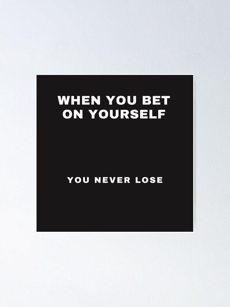 Never bet on yourself ashley s bachelor betting pool