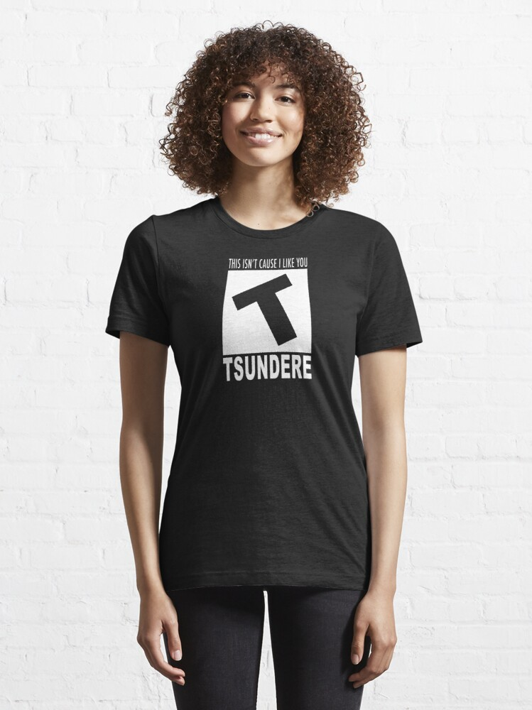 Alternate view of Tsundere rating Essential T-Shirt
