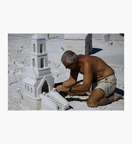 Master at Work  Photographic Print