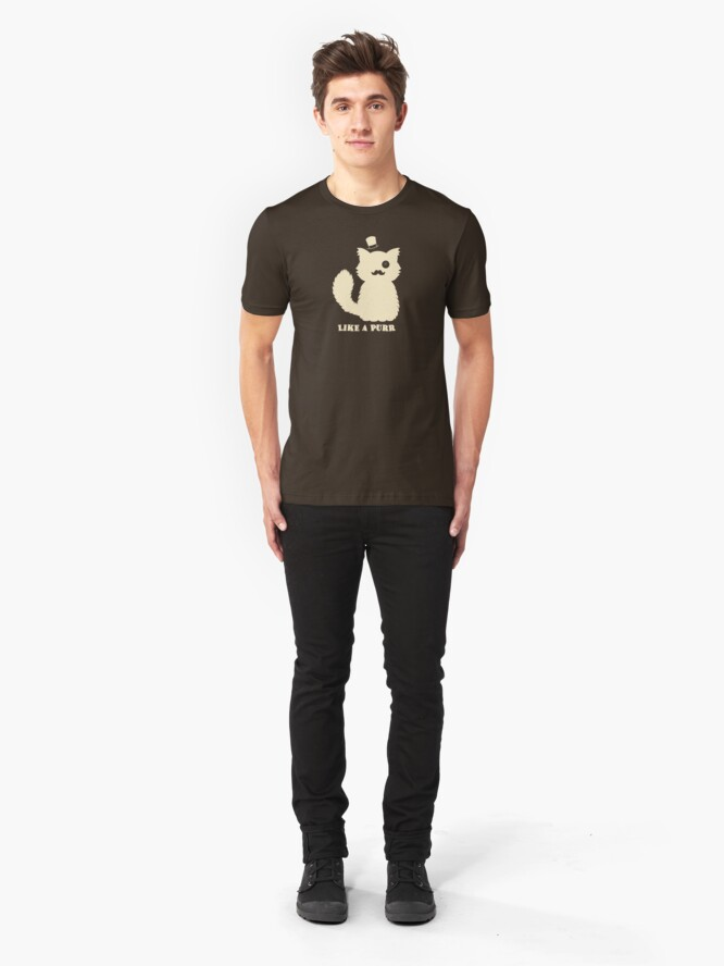 Alternate view of Like a Purr Slim Fit T-Shirt