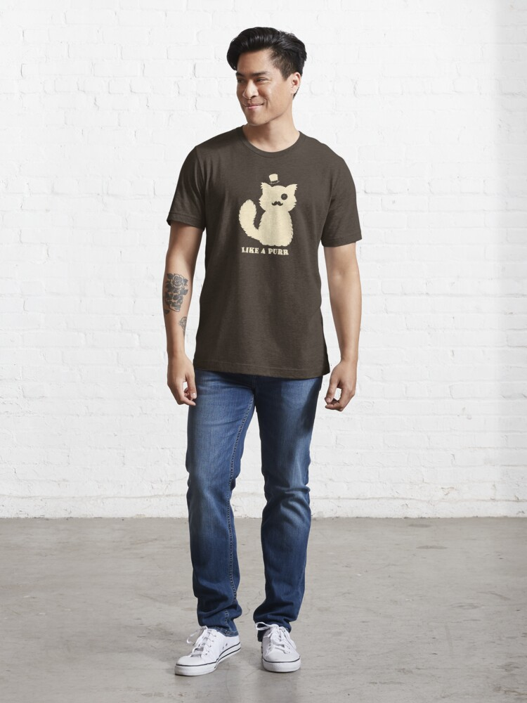 Alternate view of Like a Purr Essential T-Shirt