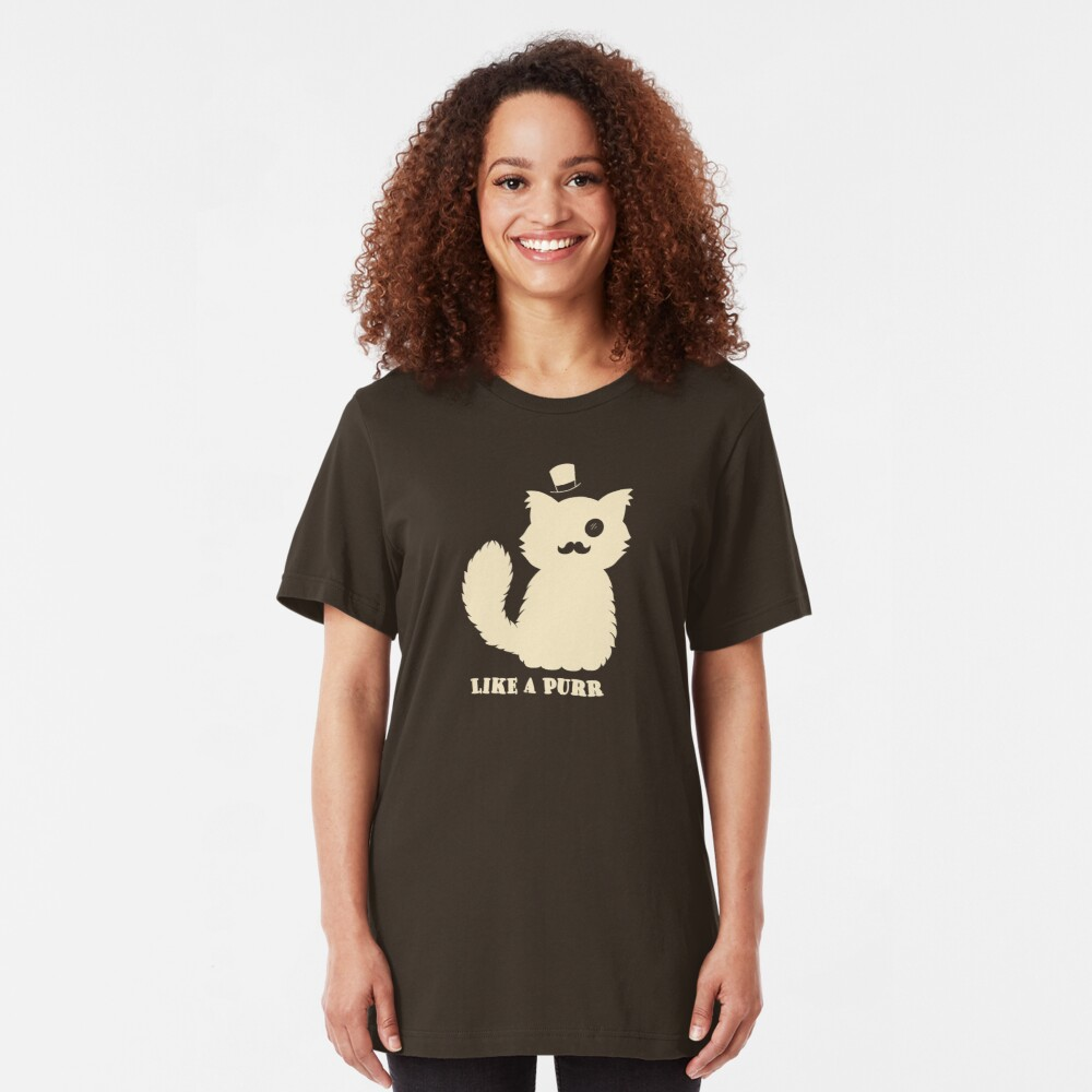 Like a Purr Slim Fit T-Shirt