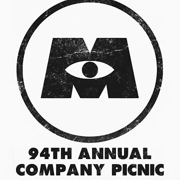 Monsters, Inc Company Picnic Light by 8bitman