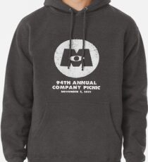 Monsters, Inc Company Picnic Dark Pullover Hoodie