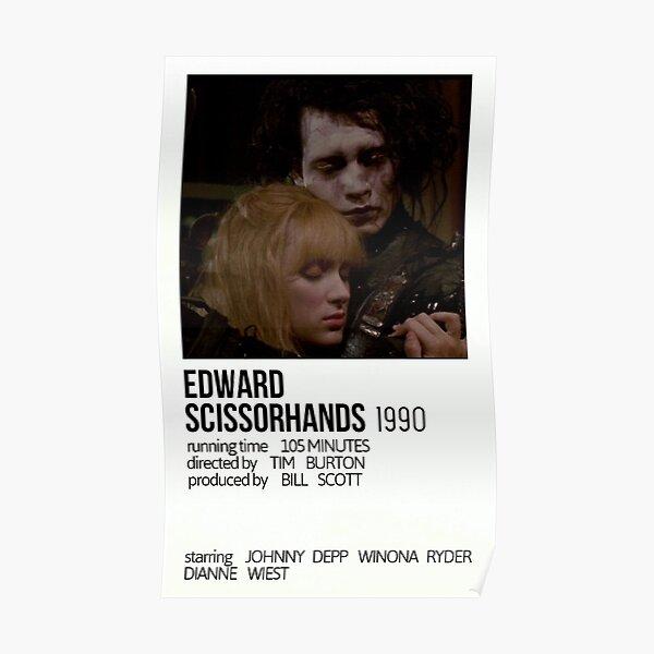 Edward Scissorhands-Affiche de film minimaliste Poster