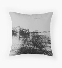 Structural Composition Throw Pillow