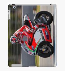 Nicky Hayden in Jerez 2012 iPad Case/Skin