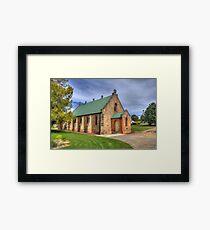 St. Matthias' Anglican Church Bombala NSW  no 1 Framed Print