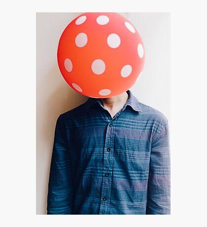 balloon head Photographic Print