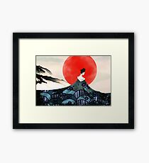 Beauty of Ancient Times Framed Print