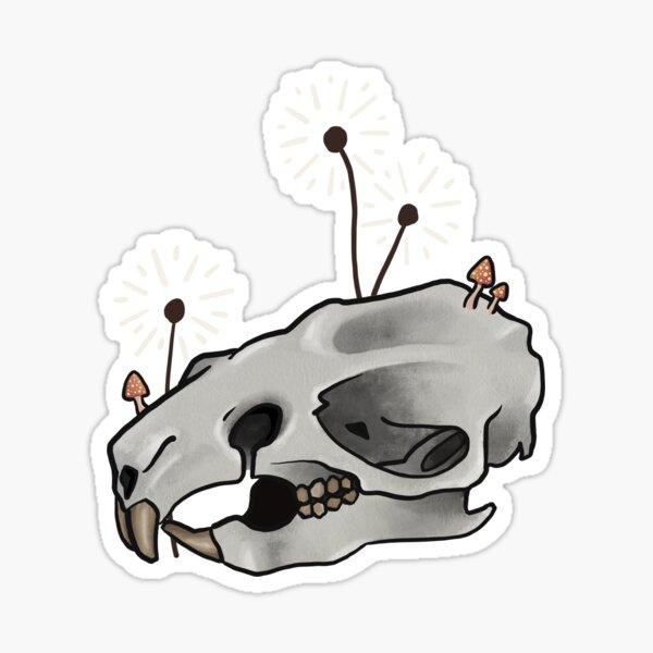 Rat Skull Sticker