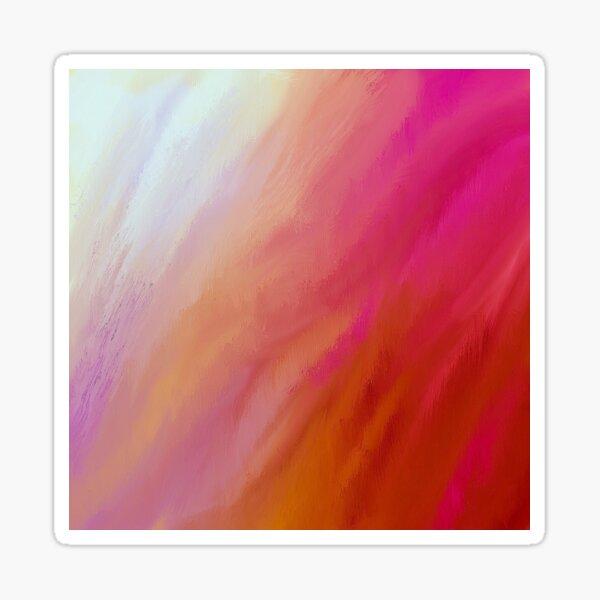 Wellen heller Farben Sticker