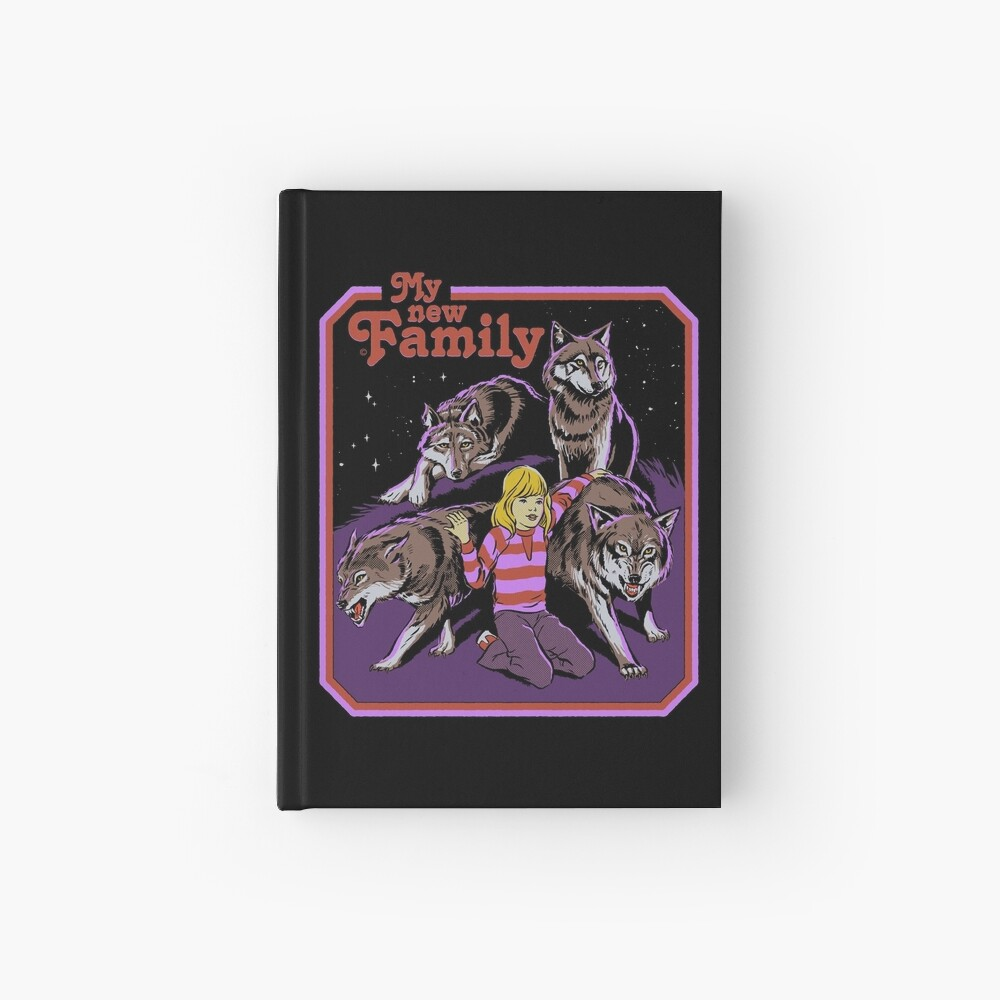 My New Family Hardcover Journal