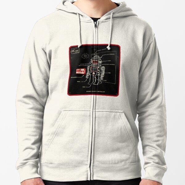 DEVO BOTS 009 Zipped Hoodie