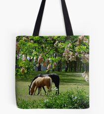 Looking out My Back Door Tote Bag