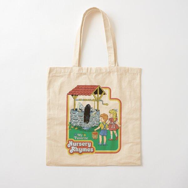 My Favorite Nursery Rhymes Cotton Tote Bag