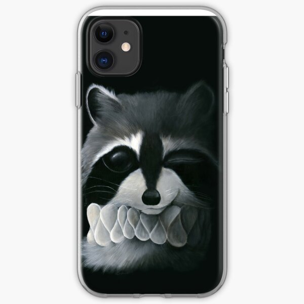Raccoon iPhone Soft Case