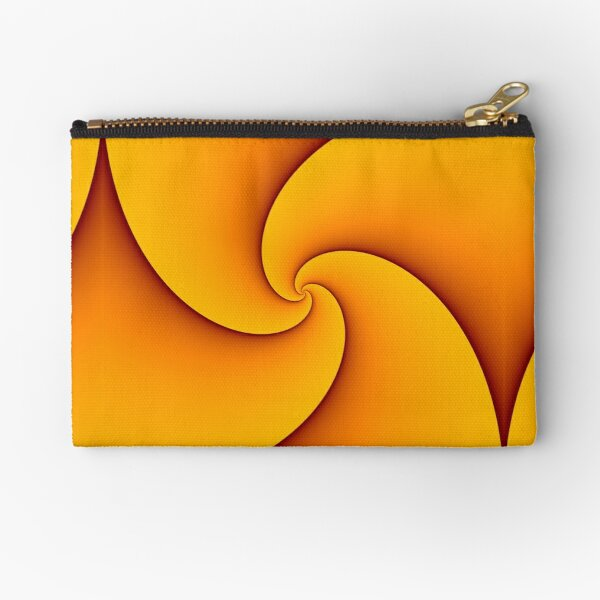 Curves of Pursuit in Yellow Zipper Pouch
