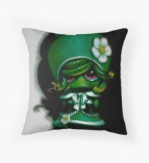 Lil' Medusa Throw Pillow