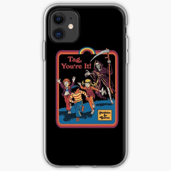 Tag, You're It iPhone Soft Case