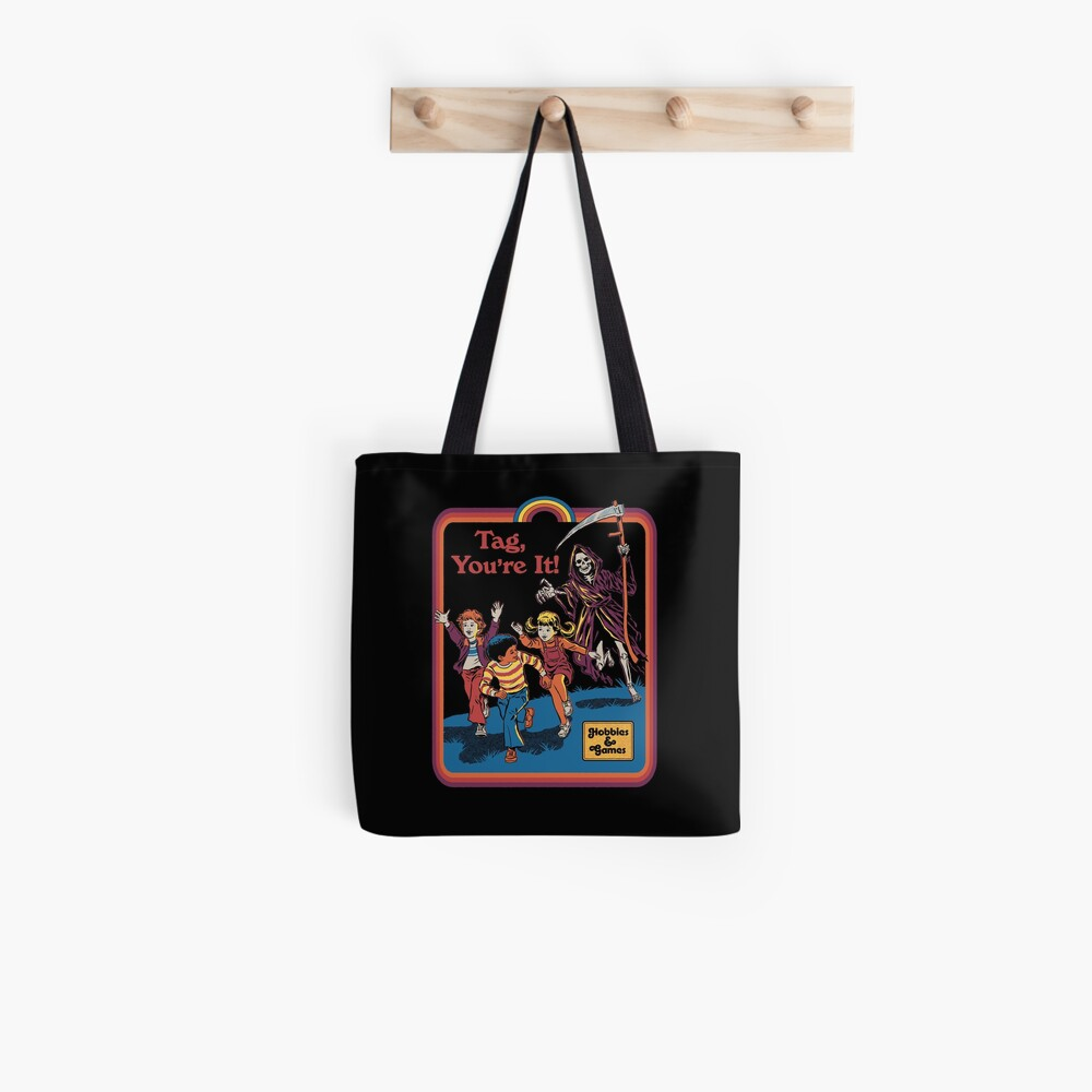 Tag, You're It Tote Bag