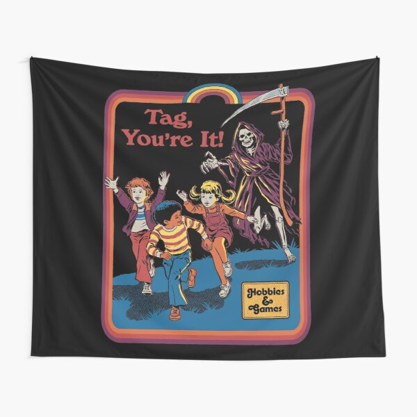 Tag, You're It Tapestry