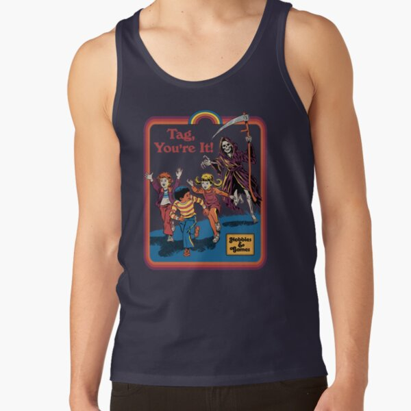Tag, You're It Tank Top