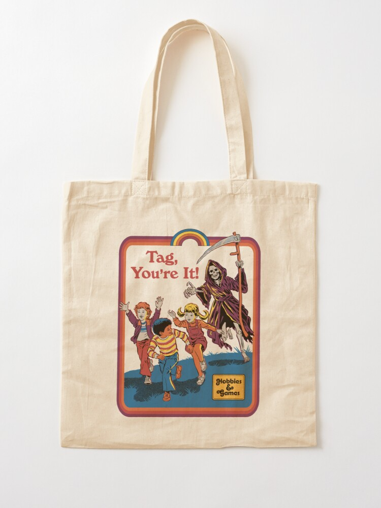 Alternate view of Tag, You're It Tote Bag