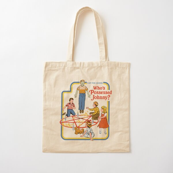 Who's Possessed Johnny? Cotton Tote Bag