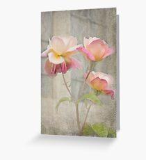 Trinity Roses Greeting Card