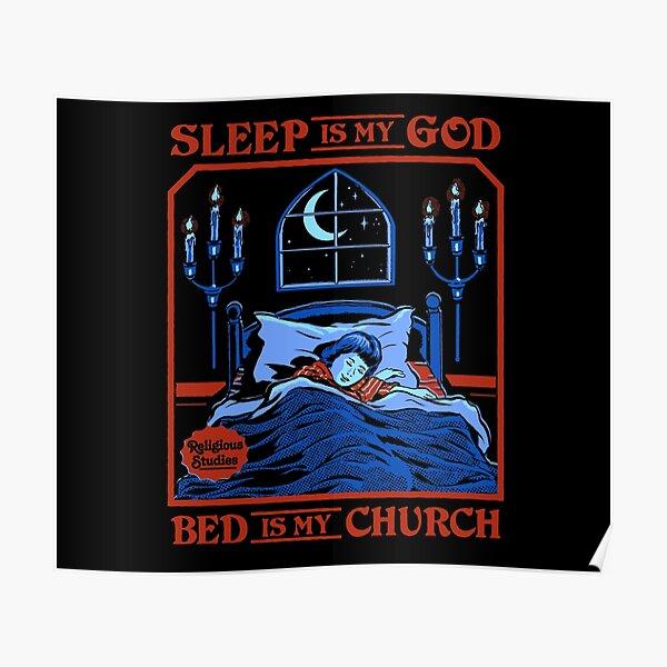 Le sommeil est mon Dieu Poster