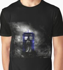 The Doctor and his blue box Graphic T-Shirt
