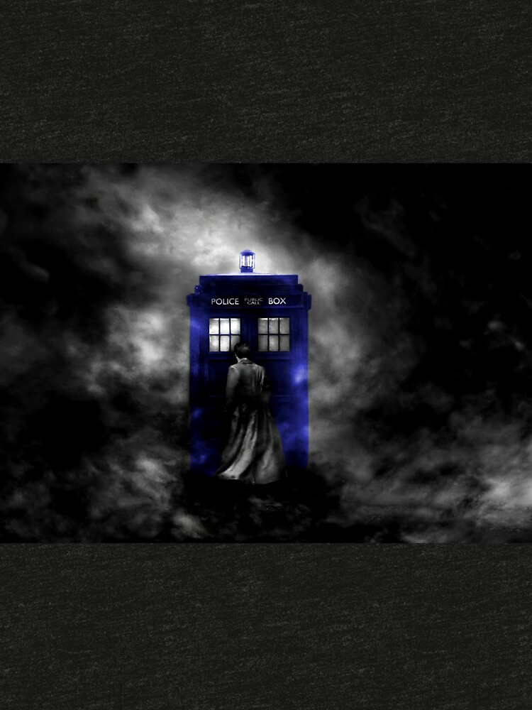 The Doctor and his blue box by BURPdesigns